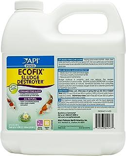 API Pond ECOFIX Sludge Destroyer Pond Cleaner and Sludge Remover with Natural Bacteria 64-Ounce Bottle