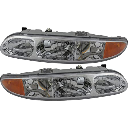 Amazon Com For Oldsmobile Alero Headlight 1999 2000 2001 2002 2003 2004 Driver And Passenger Side Headlamp Assembly Replacement Automotive