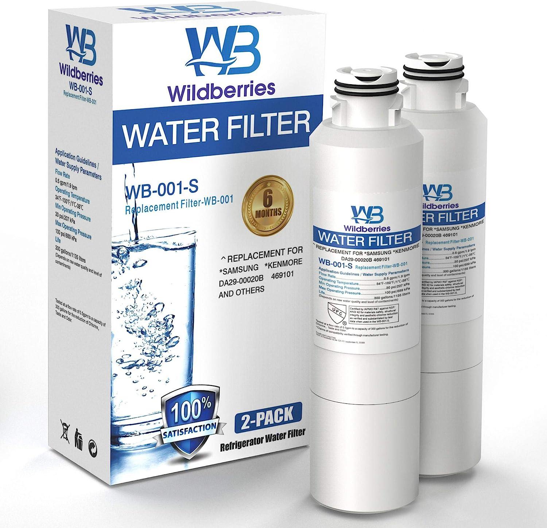 Wildberries RF263TEAEBC Refrigerator Water Albuquerque Mall Filter Compatible Popular popular wit