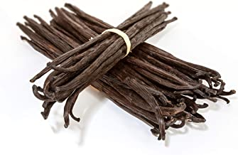 25 Madagascar Vanilla Beans - Whole Extract Grade B Pods for Baking, Homemade Extract, Brewing, Coffee, Cooking