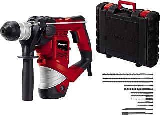 Einhell hammer drill TC-RH 900 Kit (900W, 4100 min-1 impact rate, 3 J impact strength, hammer drilling, drilling and chise...
