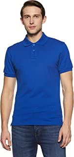 Something for Everyone Men's Basic Cotton Pique Polo Shirt