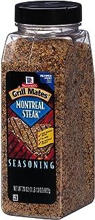 Product of McCormick Grill Mates Montreal Steak Seasoning (29 oz.) - Salt, Spices & Seasoning [Bulk Savings] (29oz Value Size)