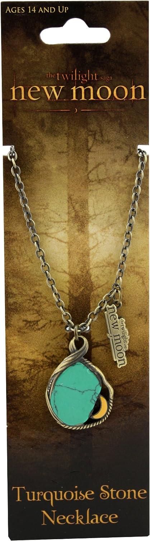 descuento de ventas en línea Twilight New Moon Necklace Necklace Necklace  New Moon Turquoise stone   barato y de moda