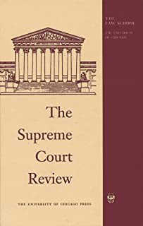 The Supreme Court Review, 2018 (English Edition)