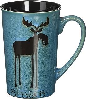 Arctic Circle Tall Alaskan Leggy Moose 14 oz. Coffee Mug