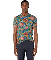Etro - Faded Printed Crew Neck T-Shirt