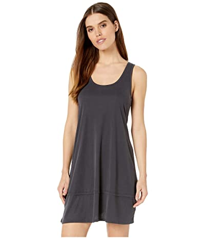 Splendid Scoop Tank Dress (Black) Women