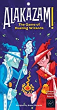 Alakazam! The Game of Dueling Wizards Fast-Paced and Magical Card Game for Two Players Great for Ages 6+ - Includes Two Fully Contained Game Cards Travel-Ready Game Cards