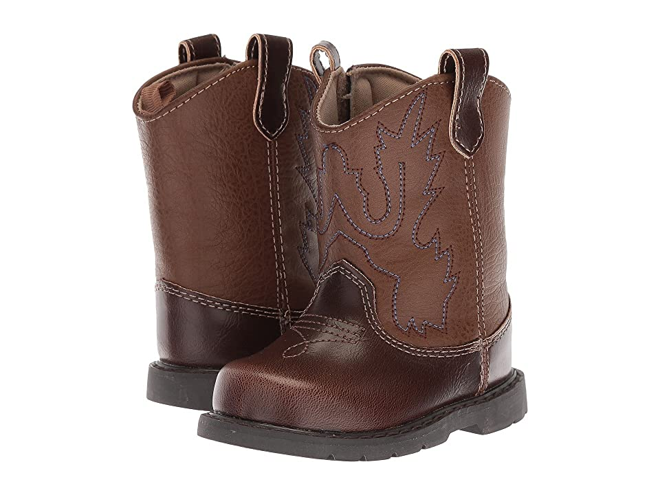 Baby Deer First Steps Western Boot (Infant) (Brown) Cowboy Boots