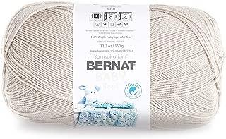 Bernat Baby Big Ball Sport Yarn, 12.3 oz, Gauge 3 Light, 100% Acrylic, Baby Taupe