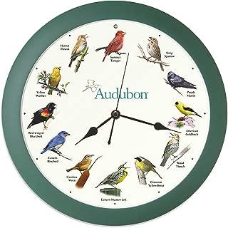 Mark Feldstein & Associates Audubon Singing Bird Clock, 13
