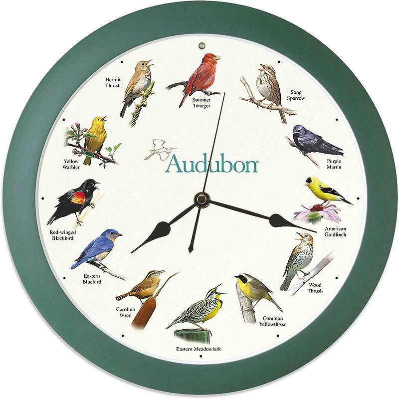 Mark Feldstein Associates Audubon Singing Bird Clock 13