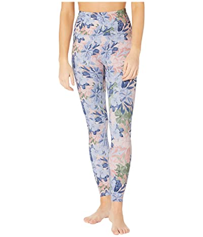 Beyond Yoga Olympus High Waisted Midi Leggings (Botanical Bouquet) Women