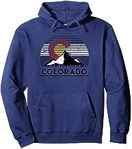 Colorado Flag Mountain Top Pullover Hoodie