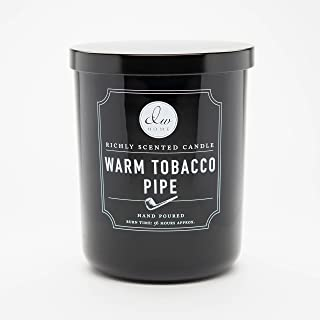 DW Home Large Double Wick Candle, Warm Tobacco Pipe