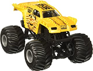 Hot Wheels Monster Jam Max-D Vehicle, Gold 1:24 Scale