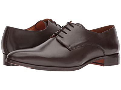 CARLOS by Carlos Santana Power Oxford (Dark Brown Full Grain Calfskin Leather) Men