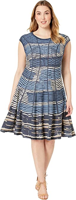Plus Size Mesmerize Twirl Dress