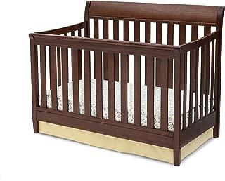 Delta Children Haven 4-in-1 Convertible Crib, Espresso Truffle