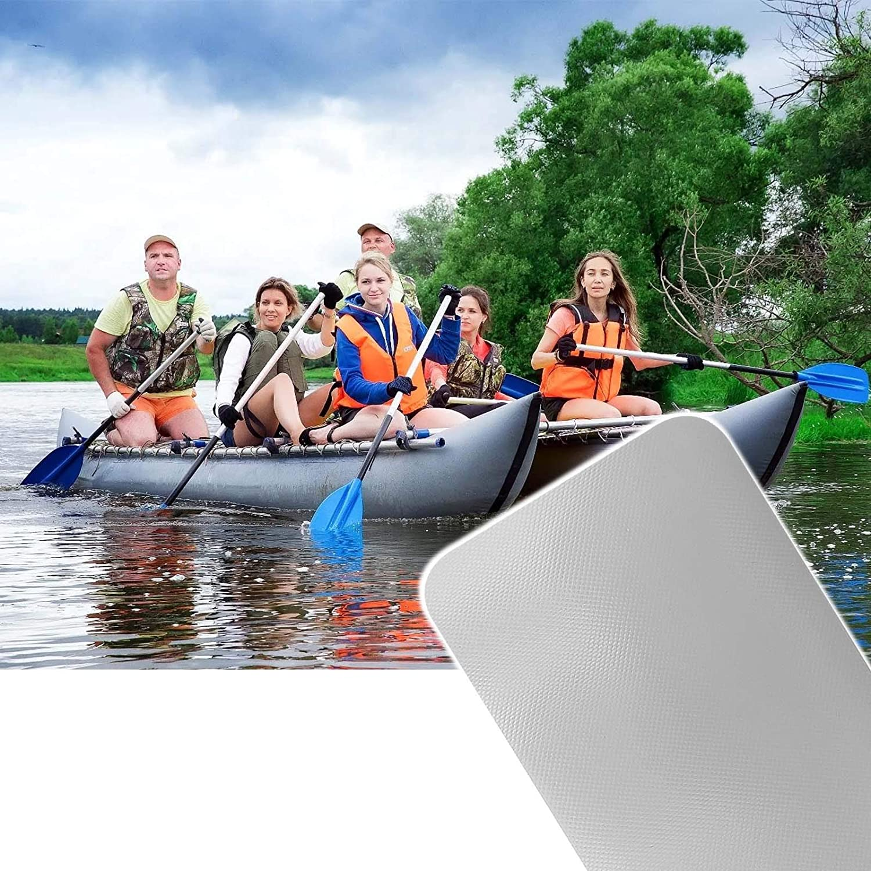 JUXATECH PVC Inflatable Boat Repair Patch for Air Mattress Inflatable Boat Rafts Sofa Kayak Canoe Waters Toy Raincoat Swimming Pool