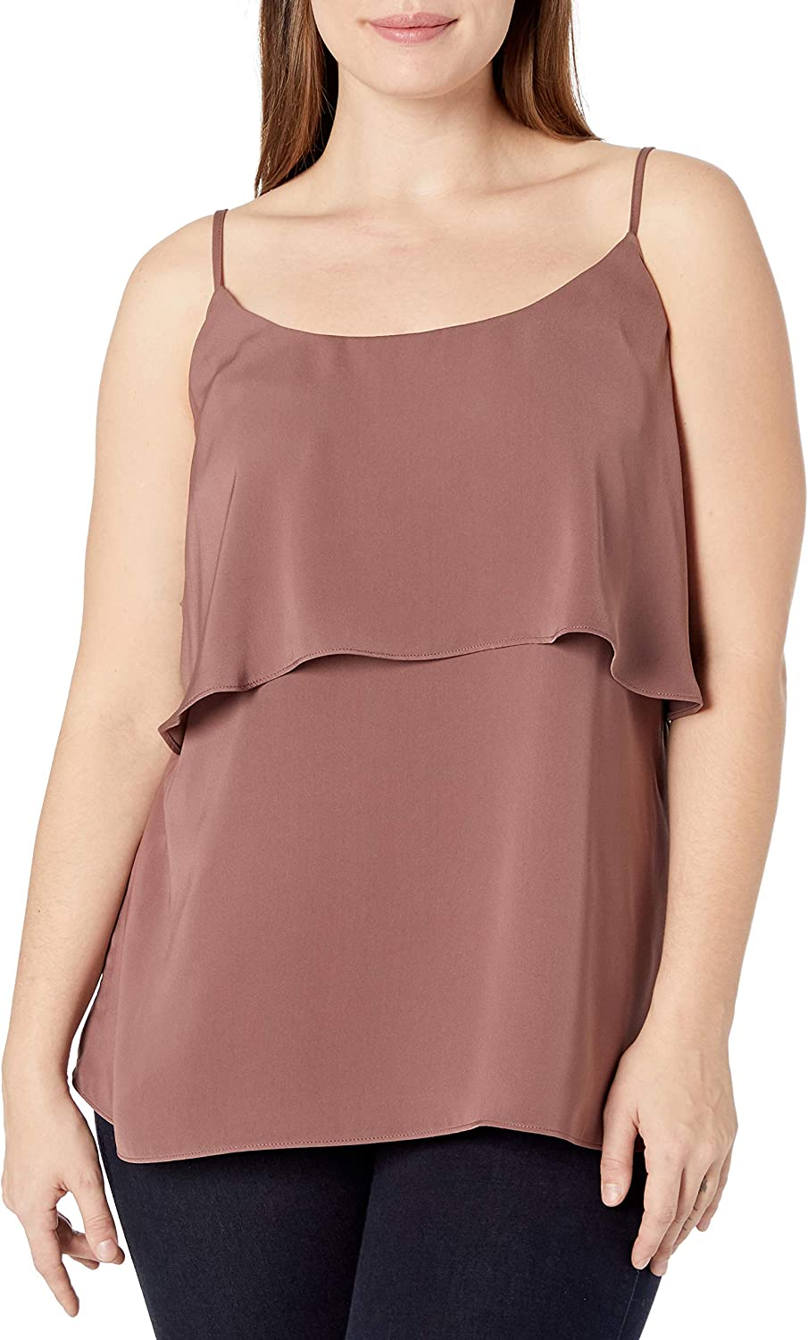 City Chic Women's Apparel Women's Cami with Centre Tier Detail