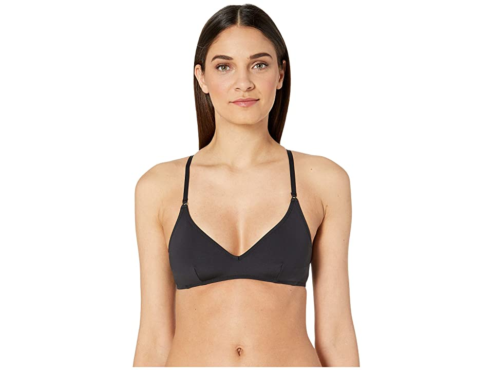 Stella McCartney Fine Lines Brassiere Top (Black) Women