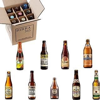 Caja degustación 9 cervezas diferentes.La caja perfecta