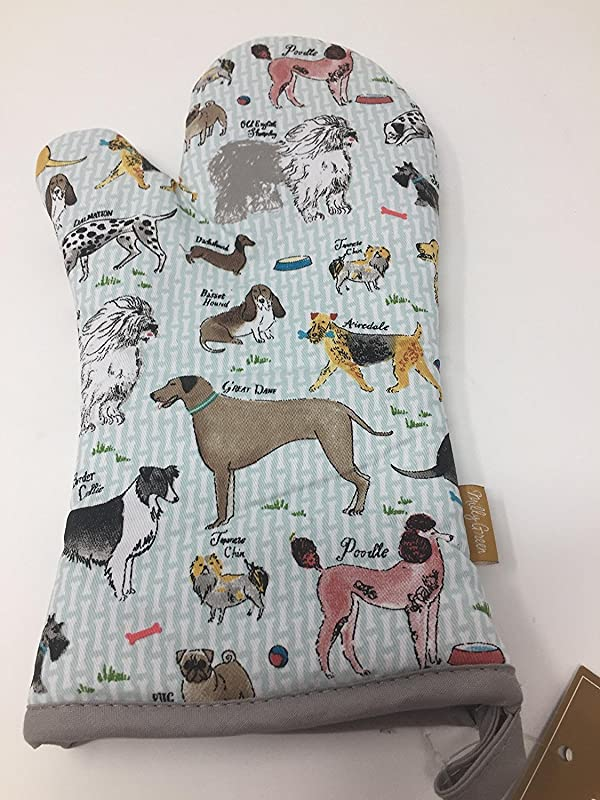 Milly Green Debonair Dogs Oven Mitt