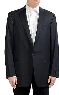 Ermenegildo Zegna Men's 100% Wool One Button Blazer Sport Coat US 44L IT 54L