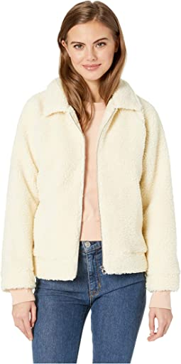 Ted Sherpa Zip Through Jacket