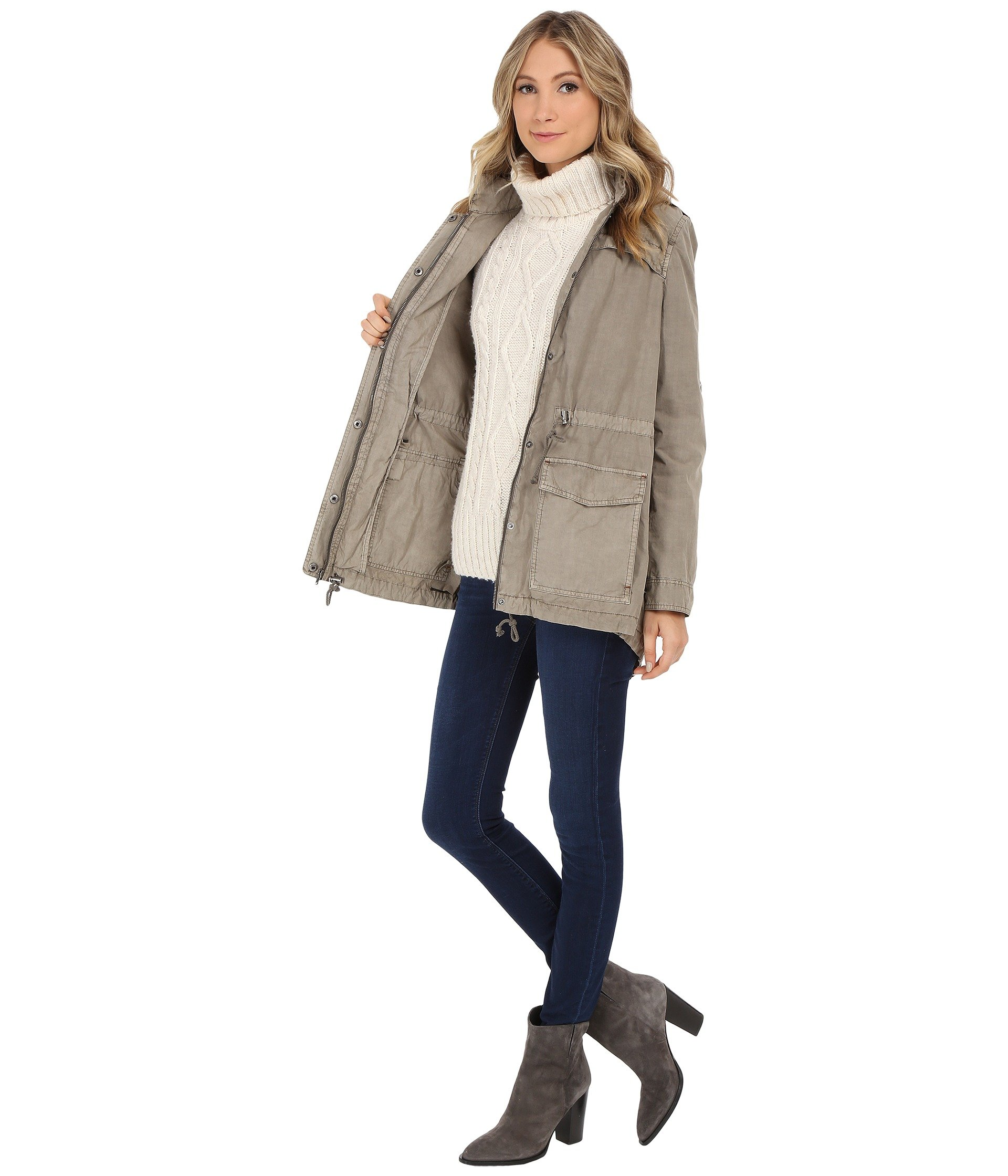 Levi's® Grey Weight Parka Classic Light r0n6rx