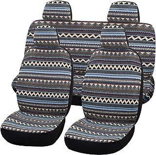 Universal Bohemia Style Delux Baja Blanket Car Seat Covers Full Sets,5 Seats(boxi5)