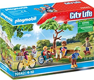 PLAYMOBIL City Life 70542 In the City Park, 4 Years and Above