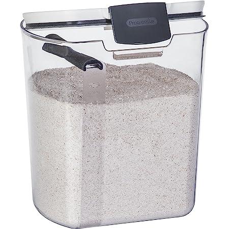 Progressive International Progressive Prokeeper Flour Container, Clear bread storage, 1 Piece