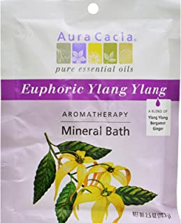 Aromatherapy Mineral Bath - Euphoria, Packets, 6 Units / 2.5 oz