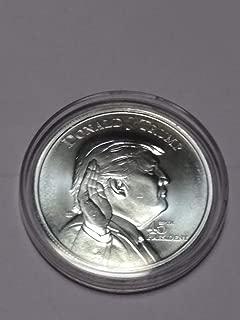 donald trump silver coin