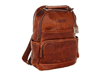 Frye Logan Backpack (Cognac Antique Pull Up) Backpack Bags