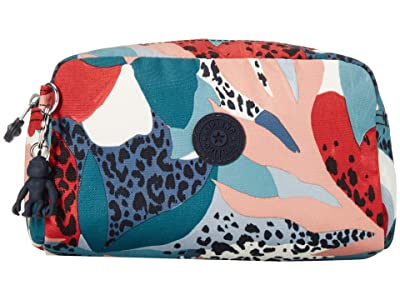 Kipling Gleam Pouch (Urban Jungle Red) Handbags