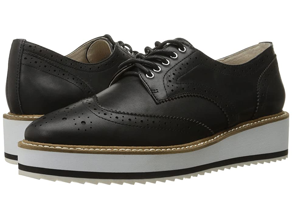 Shellys London Emma Platform Oxford (Black) Women