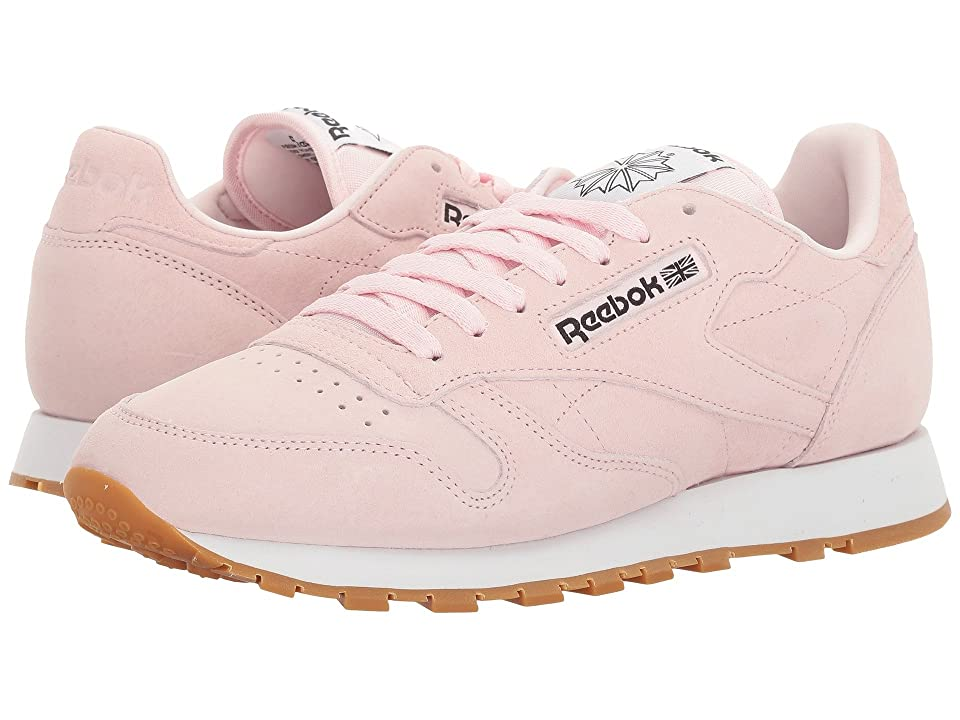 Reebok Classic Leather Pastels (Porcelain Pink/Classic White/Coal) Men