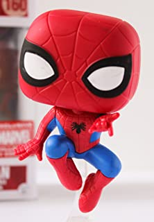 Funko Pop Marvel Collector Corps Spider-Man Exclusive Action Pose Figure