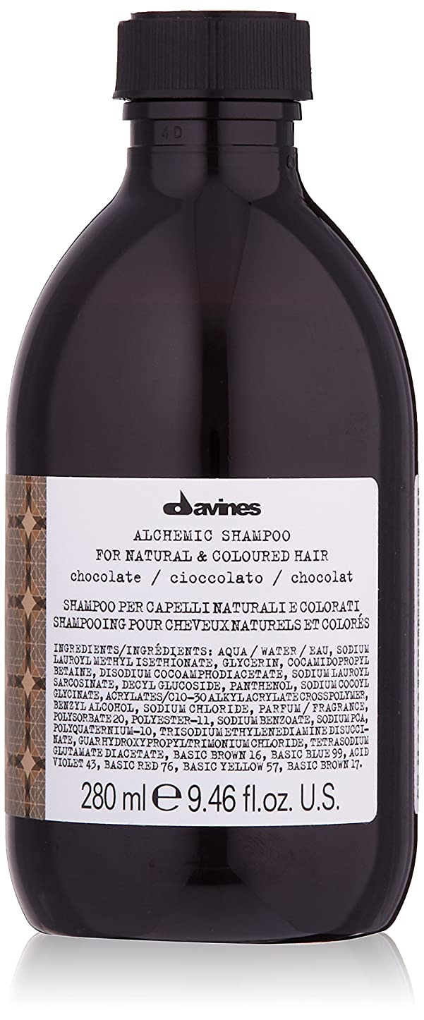 申請者岸偽善者ダヴィネス Alchemic Shampoo - # Chocolate (For Natural & Coloured Hair) 280ml/9.46oz並行輸入品