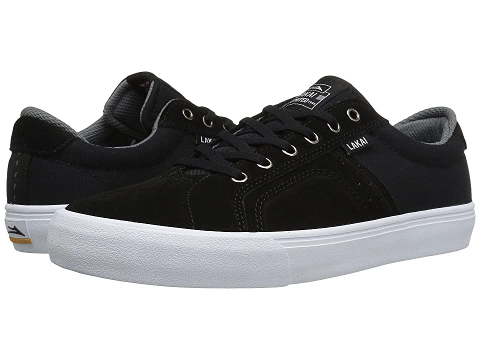 Lakai Flaco (Black/Grey Suede) Men