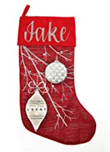 The Christmas Cart Personalised Red Bauble Christmas Stocking | Perfect Christmas Décor | Display on Mantle or Display Han...