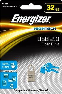 Energizer FUSMTH032R High Tech Metal USB 2.0 32 GB Flash Drive
