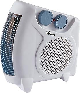 Ardes Tepo Double Calentador de ventilador Interior Blanco 2000 W - Calefactor (Calentador de ventilador, Interior, Blanco, Giratorio, 2000 W, 1000 W)