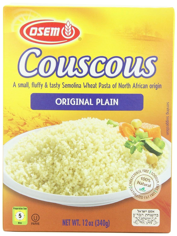 Osem North African Couscous Box Original Elegant Plain 12-Ounce Super-cheap