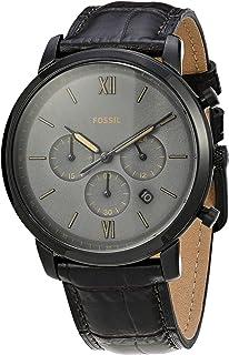 Relógio Fossil, Pulseira de Couro, Masculino Marrom FS5579/0MN