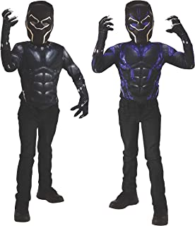 Marvel Black Panther 2-in-1 Reversible Muscle Chest Shirt Box Set, Small